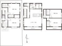 三鷹市大沢6丁目 新築戸建住宅(1) 全3棟内