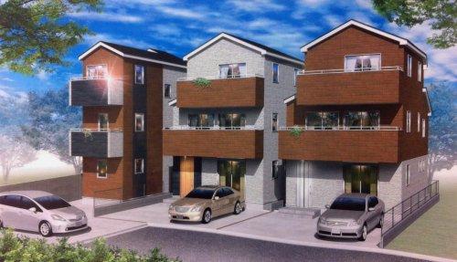 参考資料3: 三鷹市大沢6丁目7   新築戸建住宅(3) 全3棟内 新築応援!!手数料半額です。