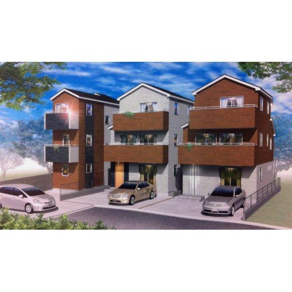 画像1: 三鷹市大沢6丁目7   新築戸建住宅(3) 全3棟内 新築応援!!手数料半額です。