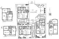 三鷹市北野4丁目 3号棟 4LDK 新築戸建住宅 全3棟内