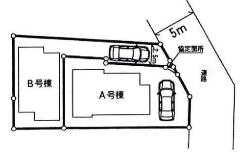 参考資料2: 調布市布田5丁目2棟内 新築戸建(B)sumiai