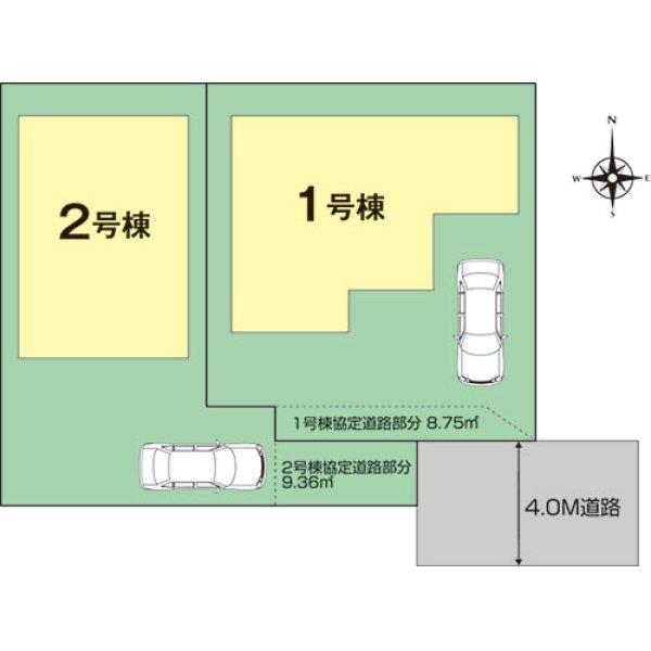画像2: 三鷹市大沢1丁目 全2棟 新築物件